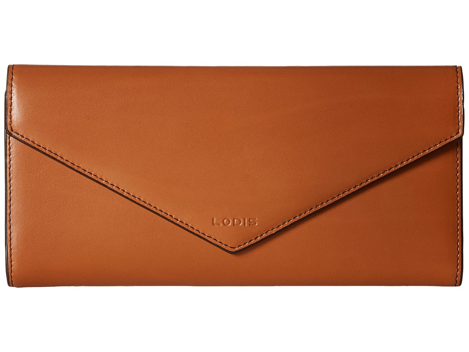 Lodis Accessories - Audrey Alix Trifold (Toffee/Chocolate) Wallet Handbags