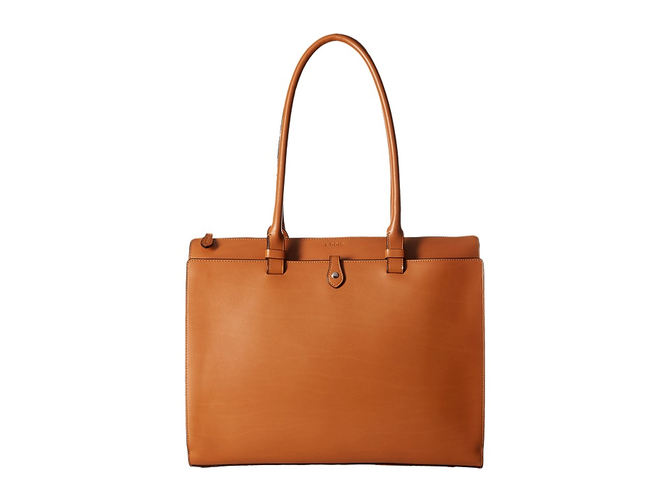 Lodis Accessories - Audrey Jessica Work Satchel (Toffee/Chocolate) Satchel Handbags