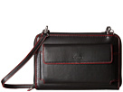 Lodis Accessories Audrey Tracy Small Crossbody (Black/Red)
