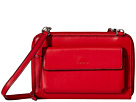 Lodis Accessories Audrey Tracy Small Crossbody (Red/Black)