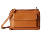 Lodis Accessories Audrey Tracy Small Crossbody (Toffee/Chocolate)