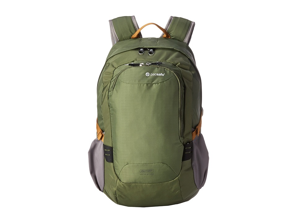 Pacsafe - Venturesafe 25L GII Anti-Theft Travel Pack (Olive/Khaki 2) Backpack Bags