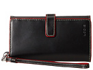 Lodis Accessories Audrey Lily Phone Wallet (Black/Red)