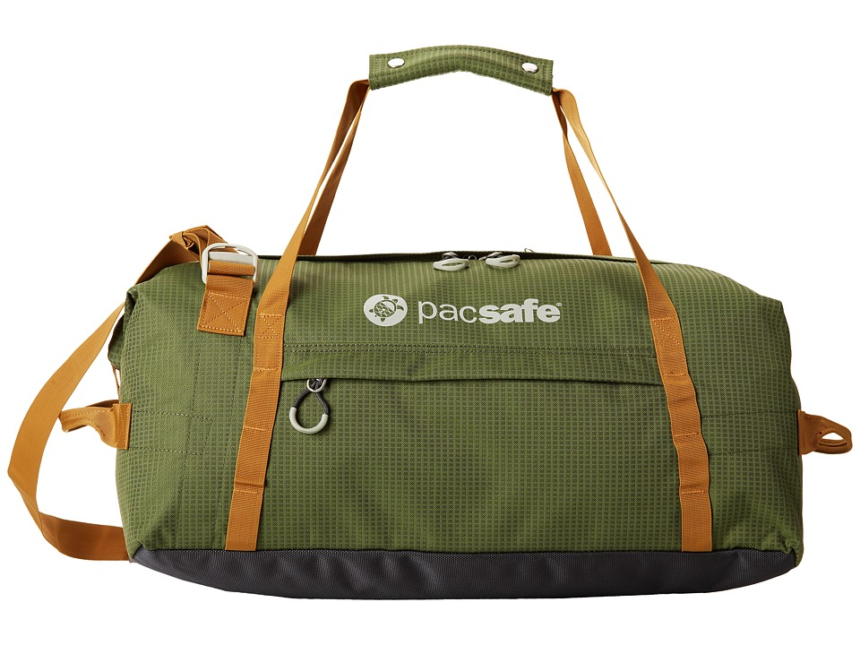 Pacsafe - DuffeLSafe At45 Anti-Theft Carry-On Adventure Duffel (Olive/Khaki) Duffel Bags