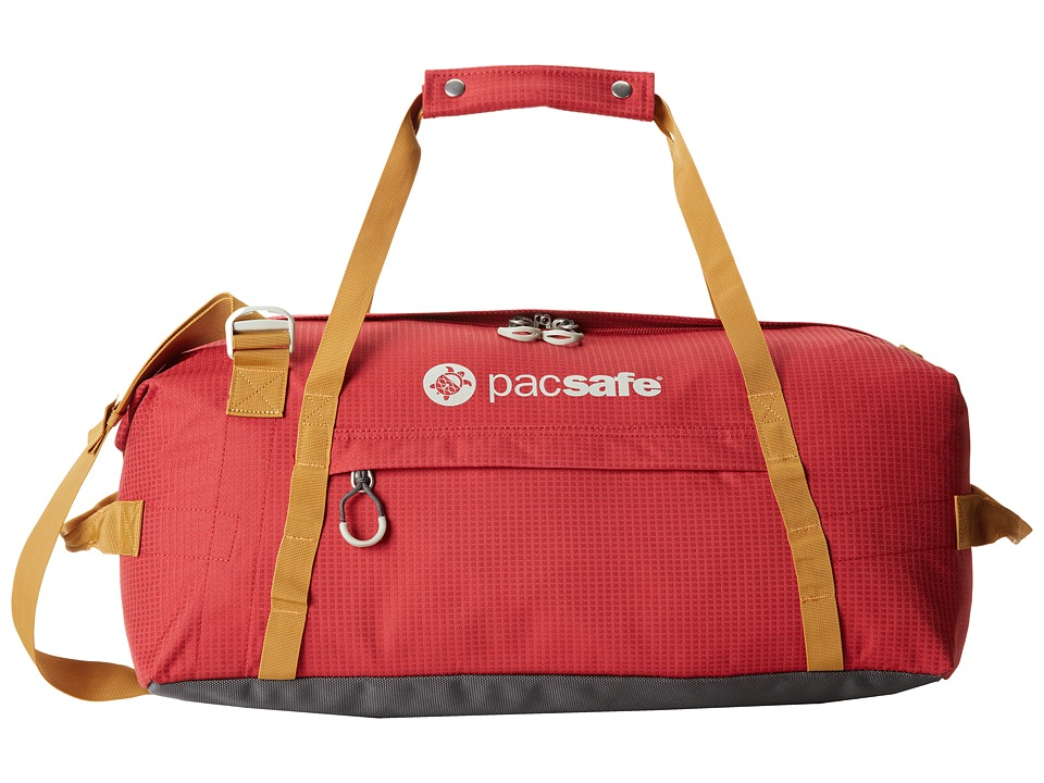 Pacsafe - DuffeLSafe At45 Anti-Theft Carry-On Adventure Duffel (Chili/Khaki) Duffel Bags