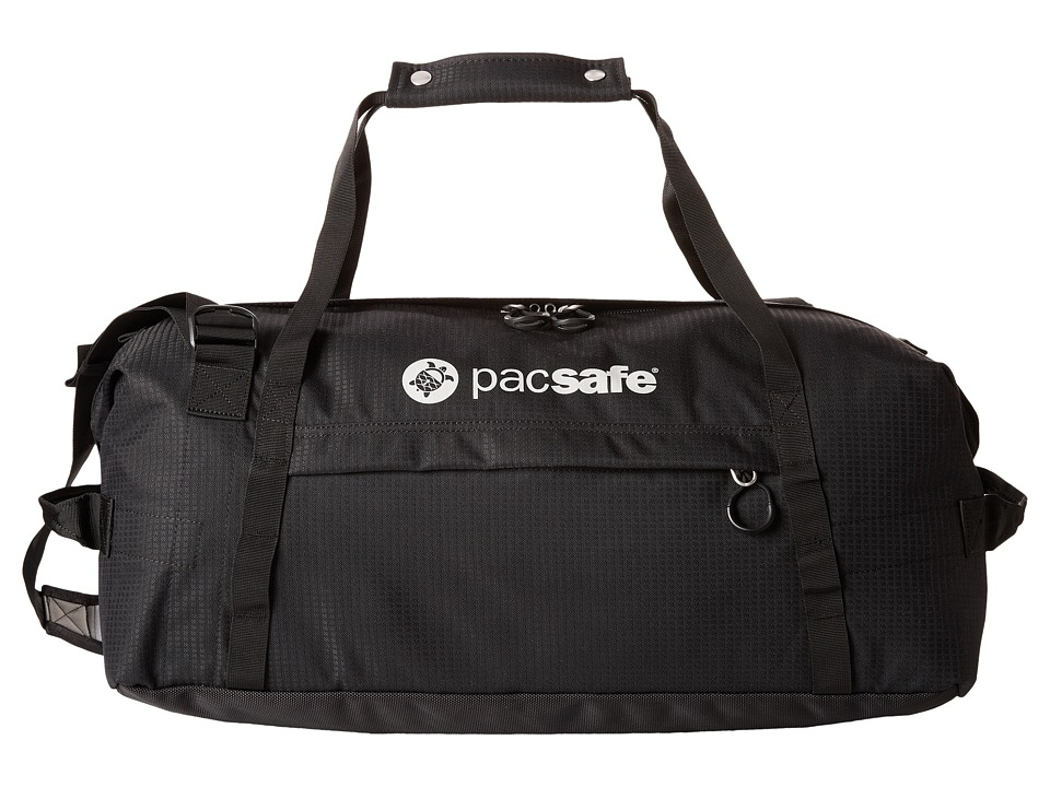 Pacsafe - DuffeLSafe At45 Anti-Theft Carry-On Adventure Duffel (Black) Duffel Bags