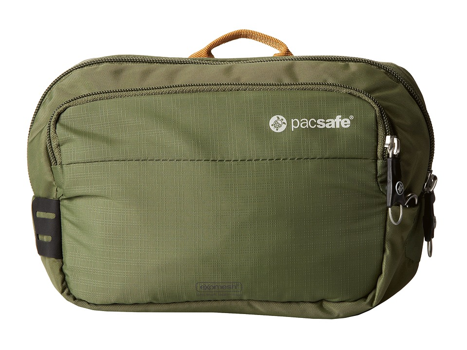 Pacsafe - Venturesafe 100 GII Anti-Theft Hip Pack (Olive/Khaki) Day Pack Bags