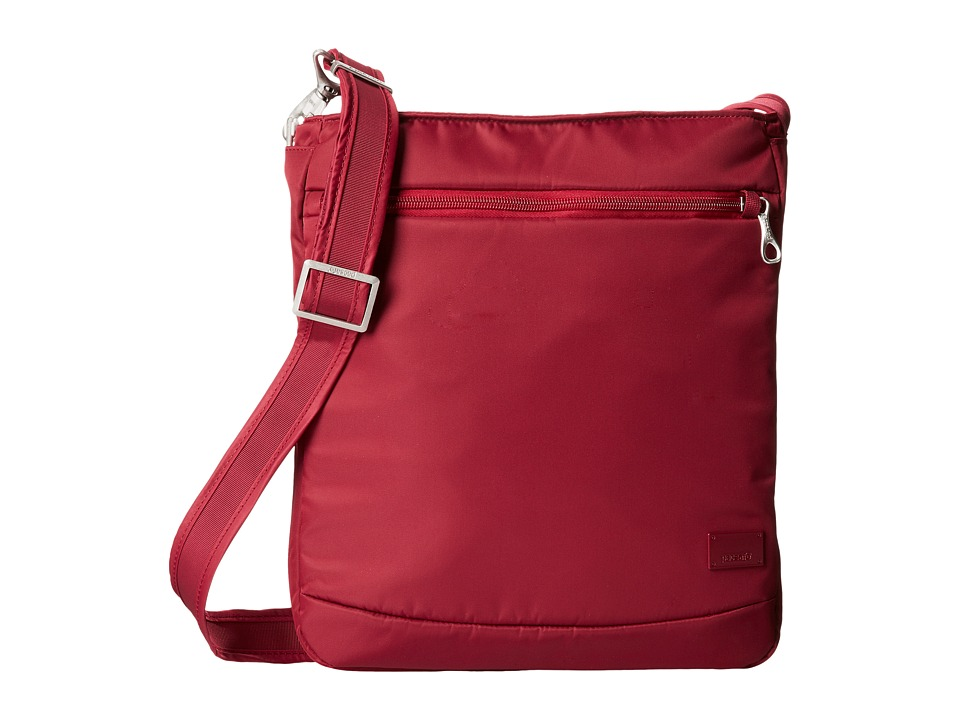 Pacsafe - Citysafe CS175 Anti-Theft Shoulder Bag (Cranberry) Shoulder Handbags