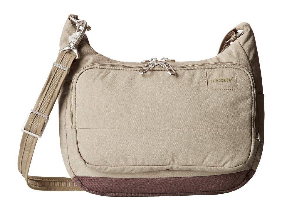 Pacsafe - Citysafe LS100 Anti-Theft Travel Handbag (Rosemary) Handbags