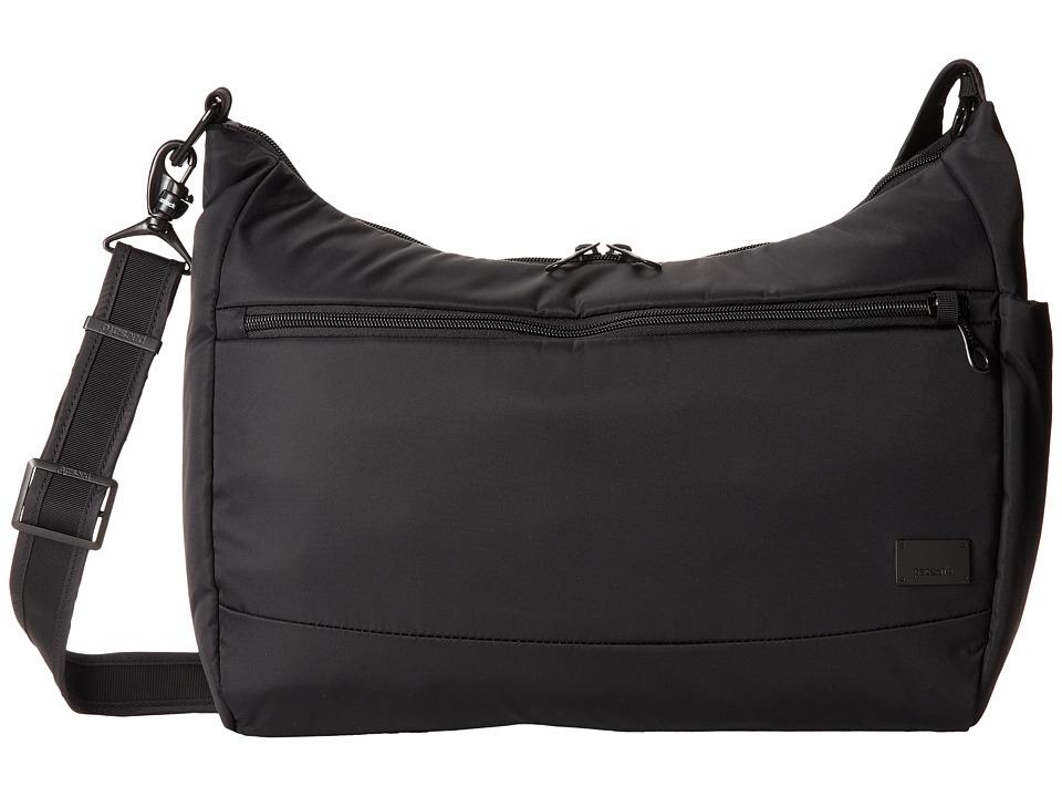 Pacsafe Citysafe CS200 Anti-Theft Handbag (Black) Handbags