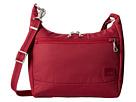 Pacsafe Citysafe CS100 Anti-Theft Travel Handbag (Cranberry)
