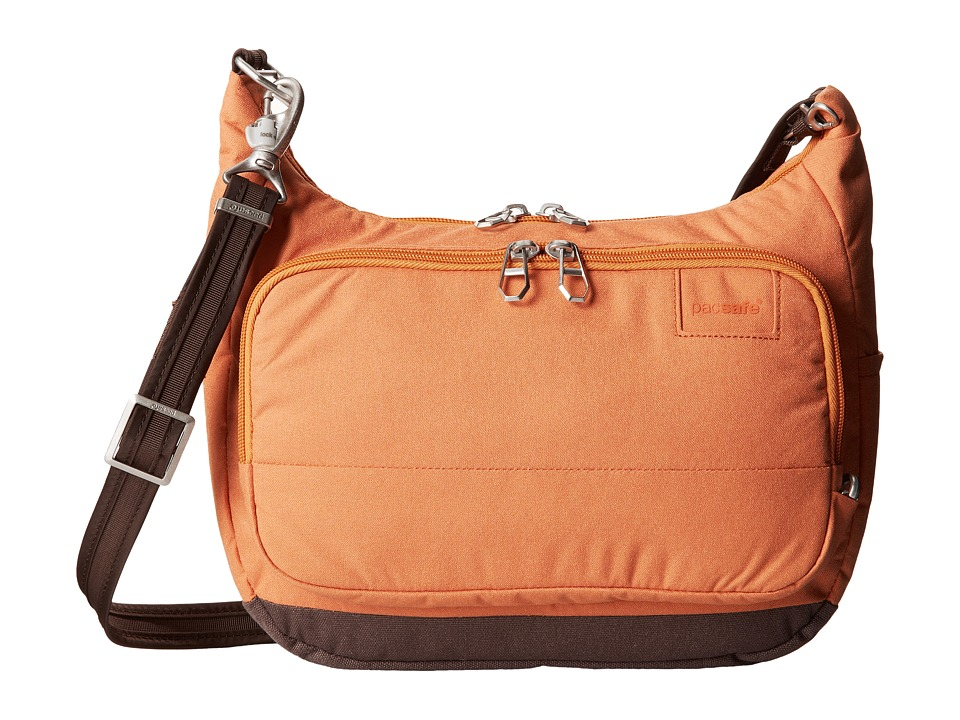 Pacsafe - Citysafe LS100 Anti-Theft Travel Handbag (Apricot) Handbags