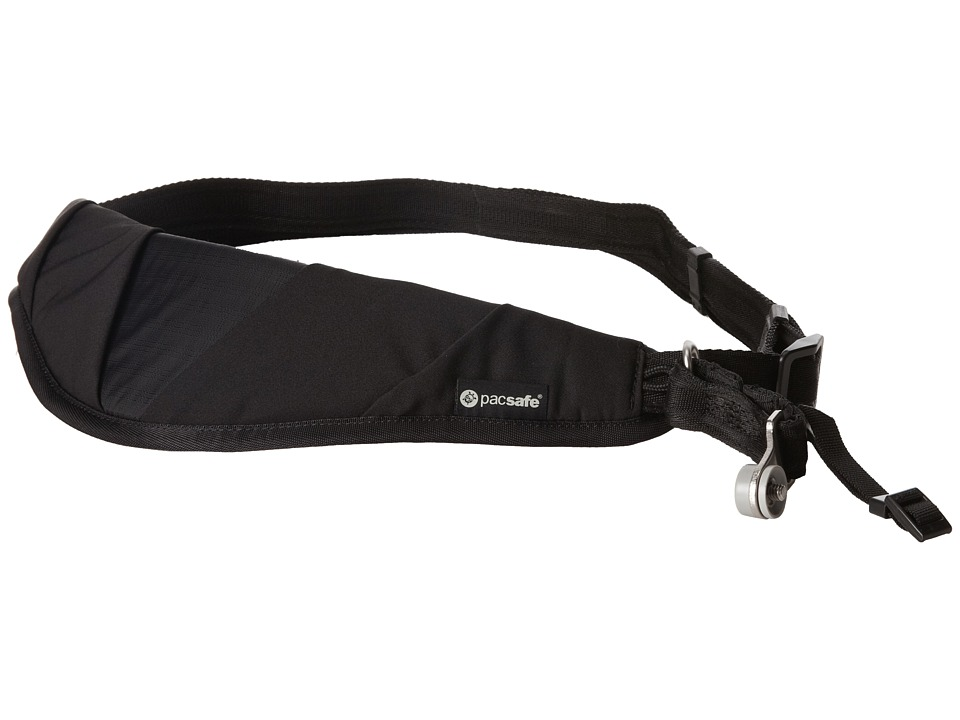 Pacsafe - Carrysafe 150 Anti-Theft Sling Camera Strap (Black) Wallet