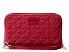 Pacsafe RFIDsafe W200 RFID Blocking Travel Wallet (Cranberry)