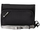 Pacsafe RFIDsafe V125 Anti-Theft RFID Blocking Tri-Fold Wallet (Black)