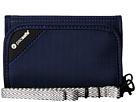 Pacsafe RFIDsafe V125 Anti-Theft RFID Blocking Tri-Fold Wallet (Navy Blue)