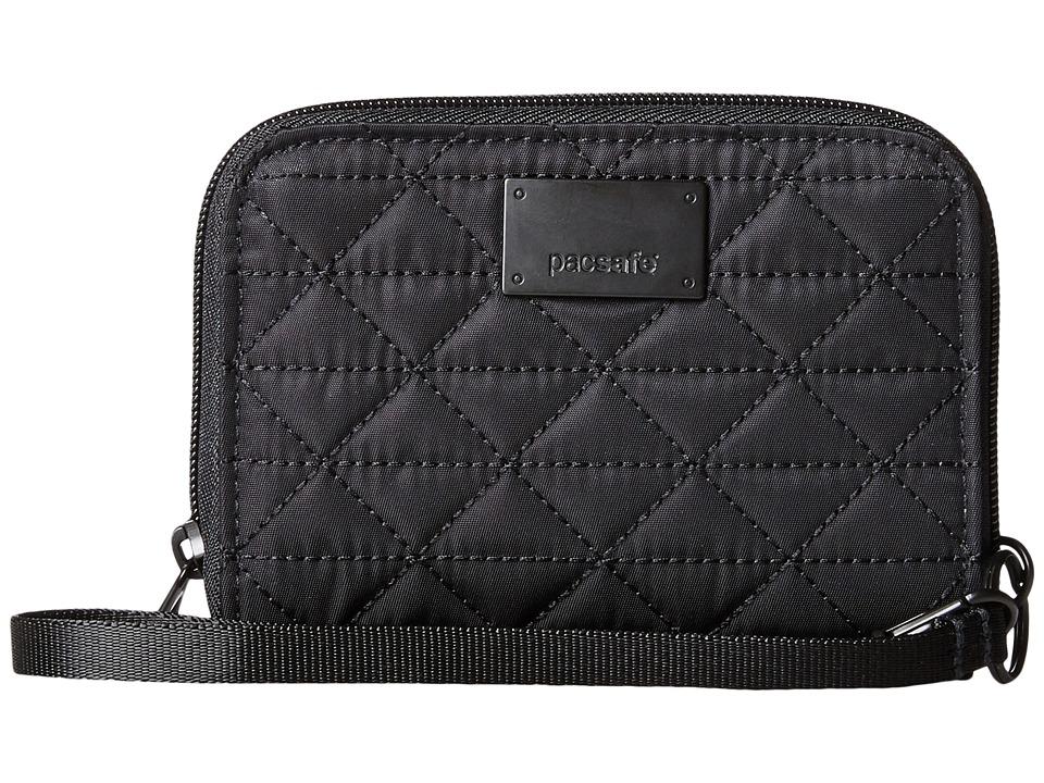 Pacsafe - RFIDsafe W100 RFID Blocking Wallet (Black) Wallet Handbags