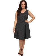 Poppy & Bloom - Plus Size Ladies Who Lunch Fit & Flare Dress