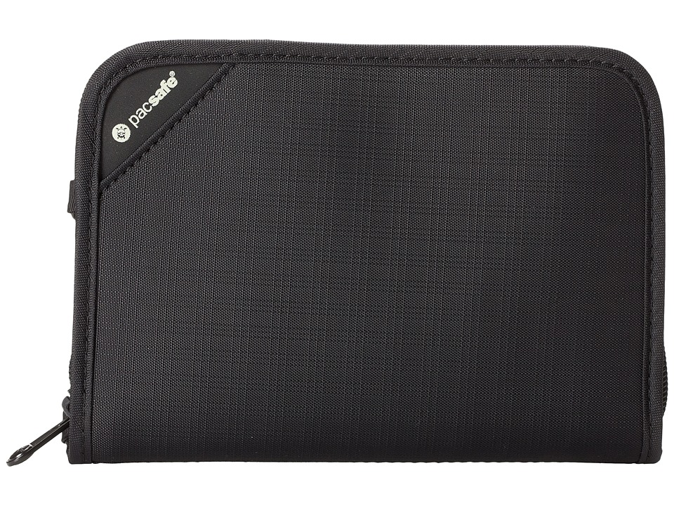 Pacsafe - RFIDsafe V150 Anti-Theft RFID Blocking Compact Organizer (Black) Wallet
