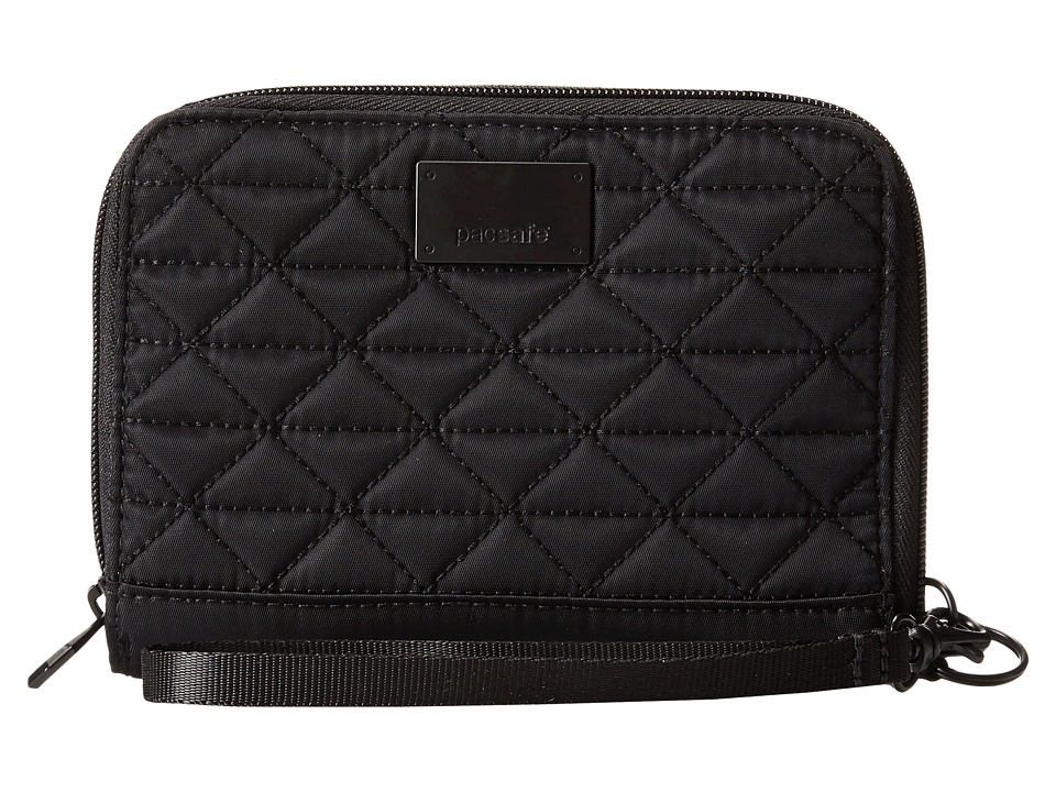 Pacsafe - RFIDsafe W150 RFID Blocking Organizer (Black) Wallet