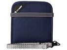 Pacsafe RFIDsafe V100 Anti-Theft RFID Blocking Bi-Fold Wallet (Navy Blue)