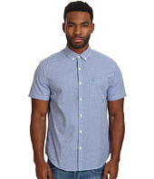 Original Penguin - Short Sleeve Gingham Cotton Heritage Fit Shirt