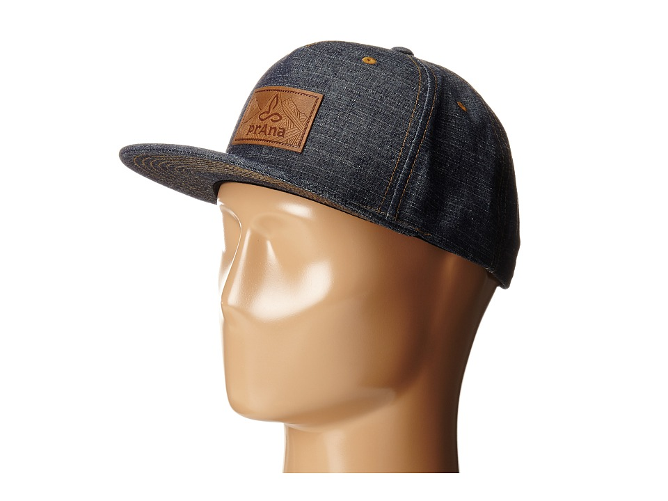Prana - Kendal Ball Cap (Denim) Baseball Caps