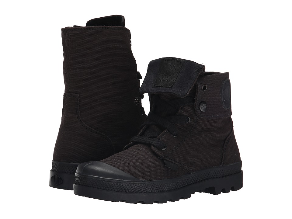 Palladium Kids Baggy Zipper II Little Kid Black Boys Shoes