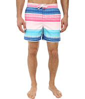 Original Penguin - Cloud Stripe Volley Swim Shorts