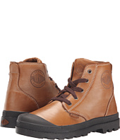 Palladium Kids - Pampa Hi Leather Zip (Little Kid)