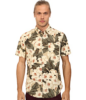 Original Penguin - Dark Floral Printed Short Sleeve Woven Shirt