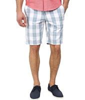 Original Penguin - Plaid Cotton Poplin Slim Fit Shorts