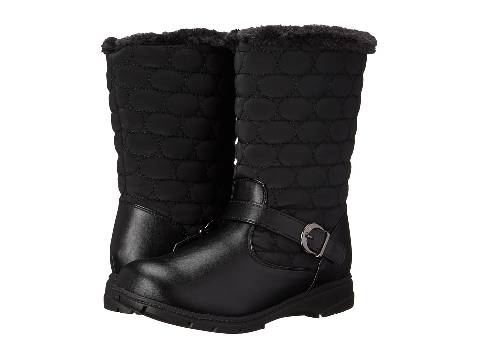 Soft Style Pixie (Black Vylon/Vitello) Women's Cold Weather Boots