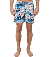 Original Penguin - Dark Floral Print Fixed Volley Shorts