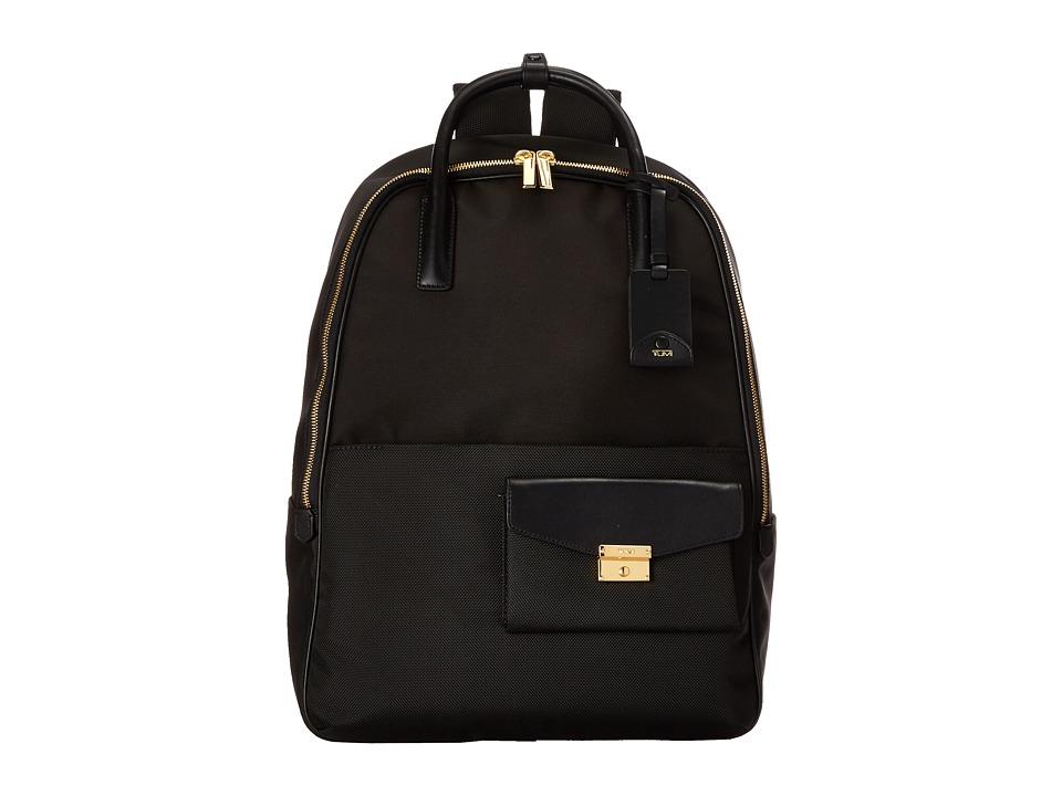 Tumi - Larkin Portola Convertible Backpack (Black) Backpack Bags