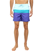 Original Penguin - Three Color Stripe Fixed Volley Shorts