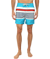 Original Penguin - Engineered Stripe Print Fixed Volley Shorts
