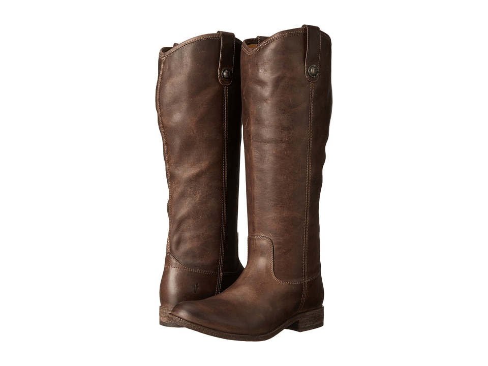 Frye Melissa Button Boots Extended (Slate Extended Calf) Western Boots