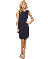 Three Dots - Sleeveless Contrast Dress