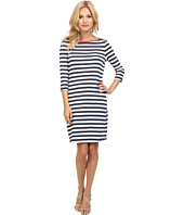 Three Dots - Boatneck 3/4 Sleeve Dress