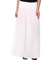Three Dots - Maxi Skirt w/ Side Slit
