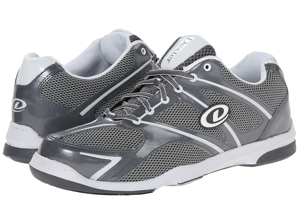 Dexter Bowling Max RH Grey/White Mens Bowling Shoes