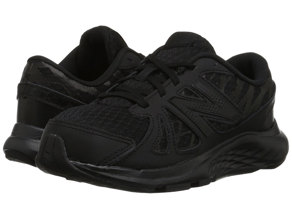 New Balance Kids 690v4 Toddler/Little Kid/Big Kid Black/Black Kids Shoes