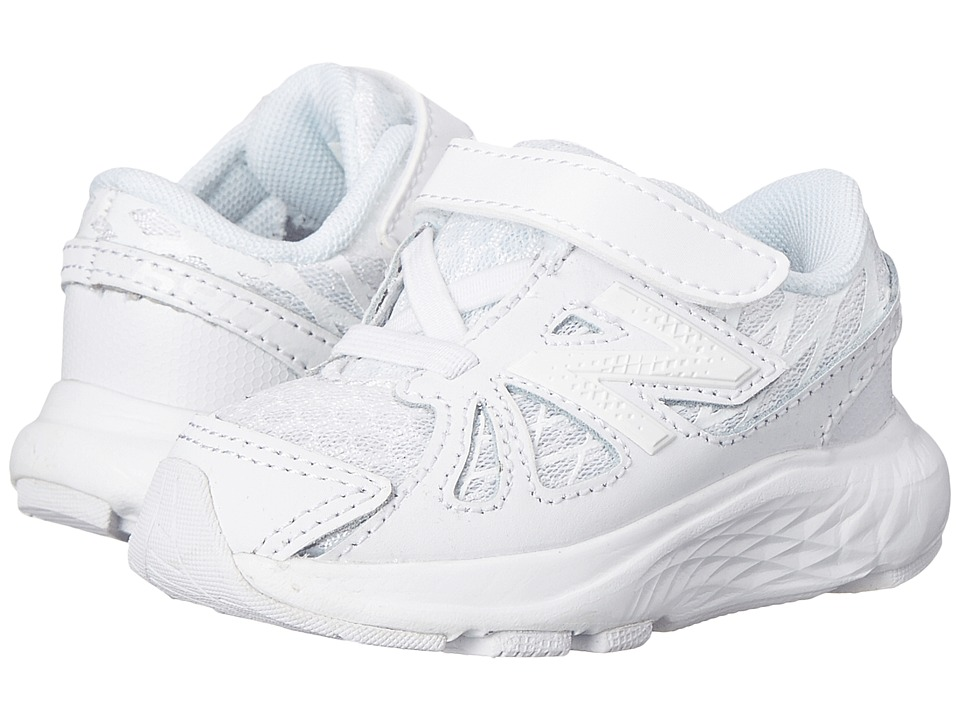 New Balance Kids 690v4 Infant/Toddler White/White Kids Shoes