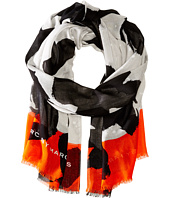 Marc by Marc Jacobs - Paint Splashed Flower Scarf