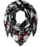 Marc by Marc Jacobs - Diagonal Plaid Scarf