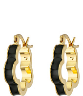 Marc by Marc Jacobs - Diamonds and Daisies Colored Daisy Window Mini Hoop Earrings