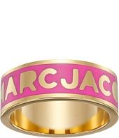 Marc by Marc Jacobs - Logo Disc-O Logo Band Ring
