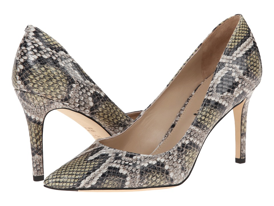 Via Spiga - Carola (Golden Roccia Metal Wash Python Print) High Heels