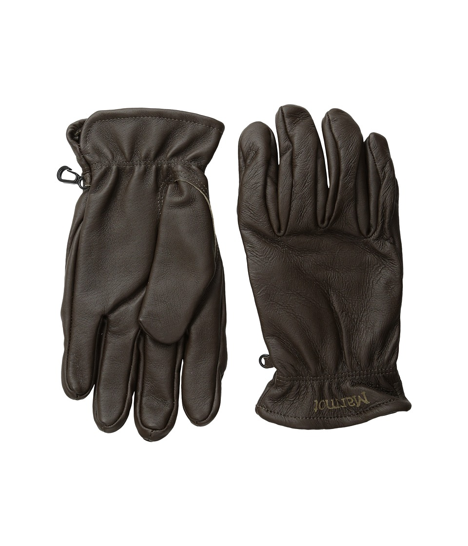 Marmot Basic Work Glove (Dark Brown) Extreme Cold Weather Gloves